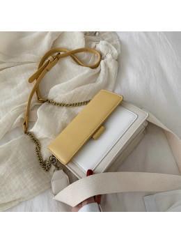 Маленькая повседневная сумочка Ramiel G-1Y Желтая