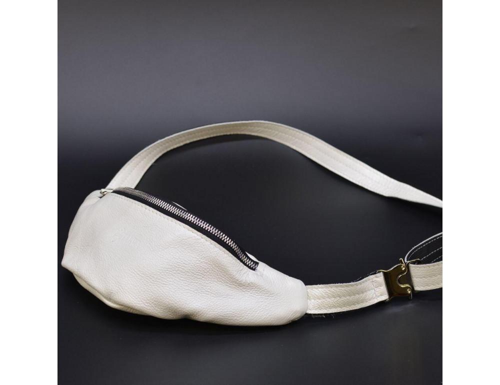 Белая женская сумка на пояс TARWA G1-3004-4lx - Фото № 1
