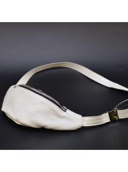 Белая женская сумка на пояс TARWA G1-3004-4lx
