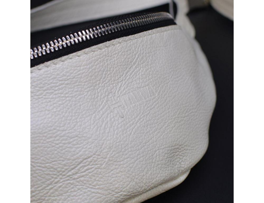 Белая женская сумка на пояс TARWA G1-3004-4lx - Фото № 6