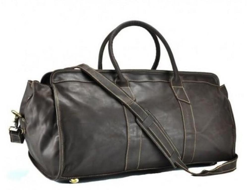 Дорожная сумка BEXHILL G5000DB коричневая - Фото № 1