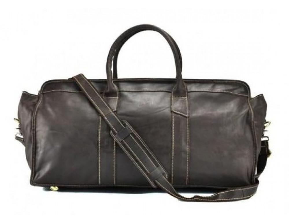 Дорожная сумка BEXHILL G5000DB коричневая - Фото № 3