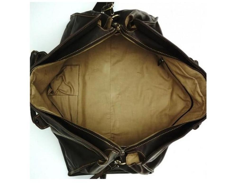 Дорожная сумка BEXHILL G5000DB коричневая - Фото № 2