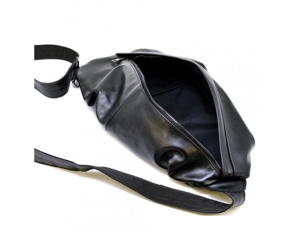 Стильная кожаная сумка-слинг TARWA Govard GA-0705-3md - Фото № 2