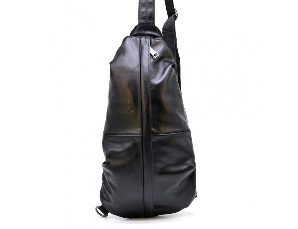 Стильная кожаная сумка-слинг TARWA Govard GA-0705-3md - Фото № 3