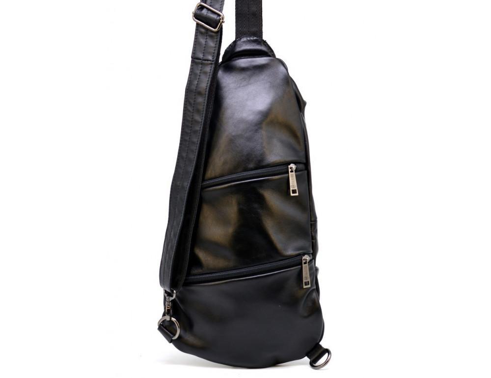 Стильная кожаная сумка-слинг TARWA Govard GA-0705-3md - Фото № 5