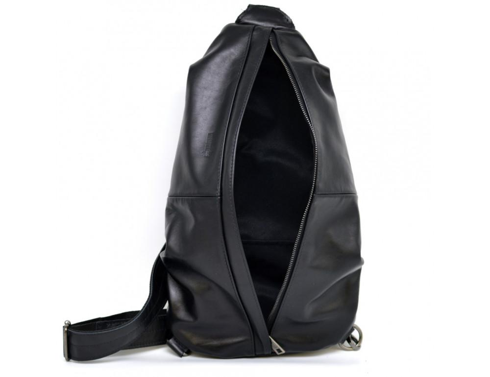 Стильная кожаная сумка-слинг TARWA Govard GA-0705-3md - Фото № 9