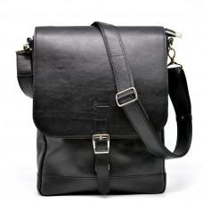 Чёрная мужская сумка через плечо на 13 дюймов Tarwa  GA-1808-4lx