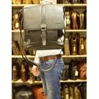 Чёрная стильная сумка на плечо формата A4 TARWA GA-1811-4lx - Фото № 107