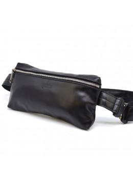 Чорна прямокутна сумка на пояс TARWA GA-1818-4lx