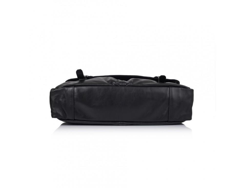 Чорний шкіряний портфель TARWA GA-7107-1md - Фотографія № 6