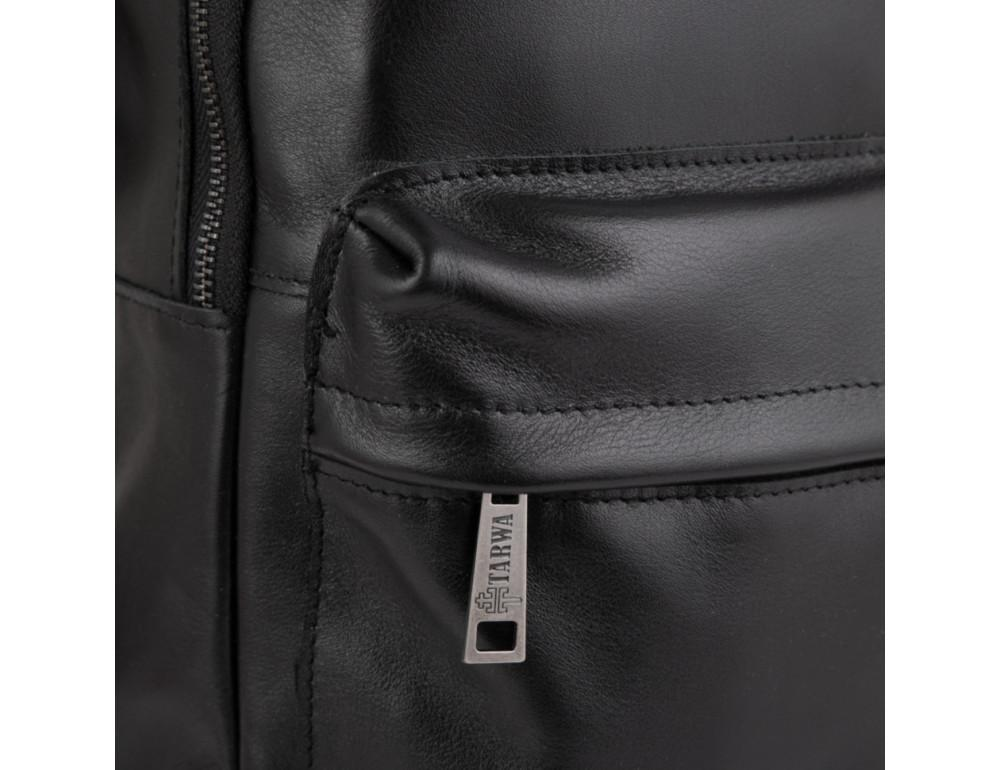 Молодёжный мужской рюкзак из гладкой кожи TARWA GA-7273-3md - Фото № 3