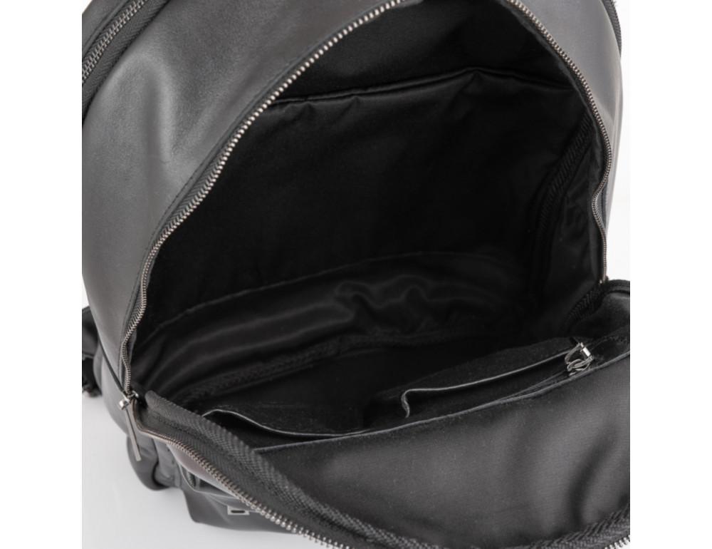 Молодёжный мужской рюкзак из гладкой кожи TARWA GA-7273-3md - Фото № 4