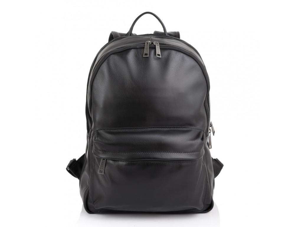 Молодёжный мужской рюкзак из гладкой кожи TARWA GA-7273-3md - Фото № 5