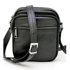 Чорна маленька чоловіча сумка через плече TARWA GA-8086-3mdb