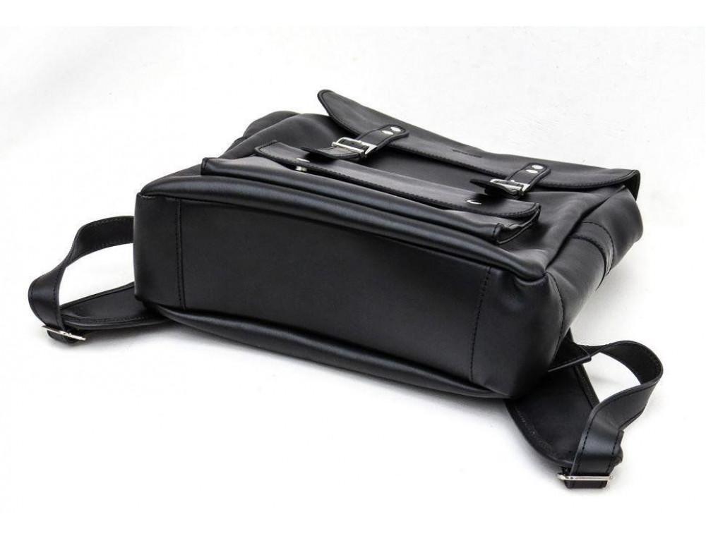 Чёрный мужской рюкзак из лошадиной кожи TARWA GA-9001-4lx - Фото № 5