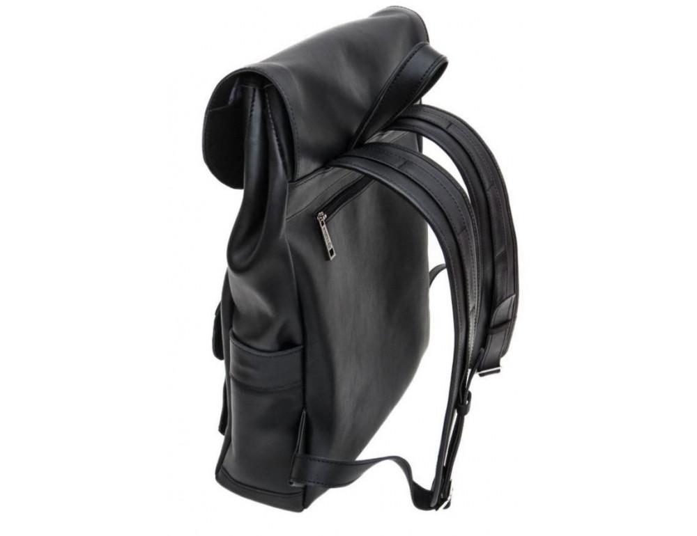 Чёрный мужской рюкзак из лошадиной кожи TARWA GA-9001-4lx - Фото № 9