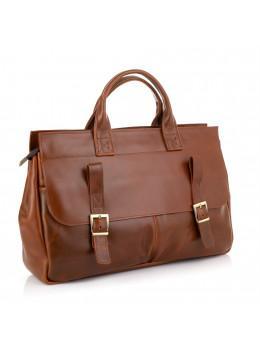 Рыжий кожаный портфель на 16.4 дюйма TARWA GB-7107-3md