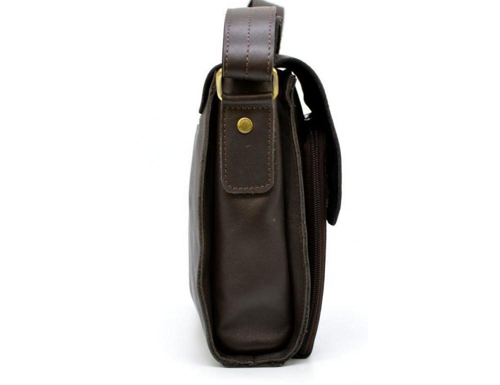 Тёмно-коричневая мужская сумка через плечо TARWA GC-3027-4lx - Фото № 3