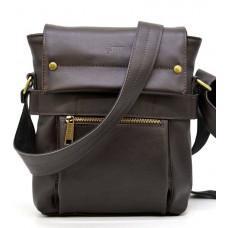 Коричневая сумка через плечо для мужчин TARWA GC-7121-3md