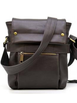 Коричнева сумка через плече для чоловіків TARWA GC-7121-3md