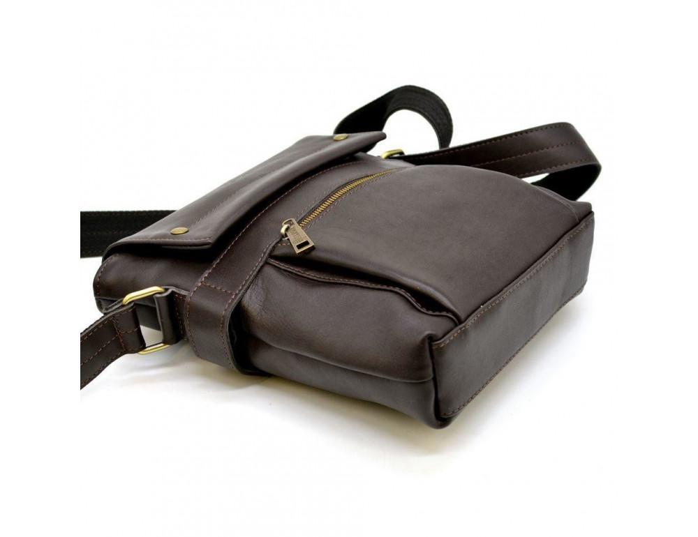 Коричневая сумка через плечо для мужчин TARWA GC-7121-3md - Фото № 6