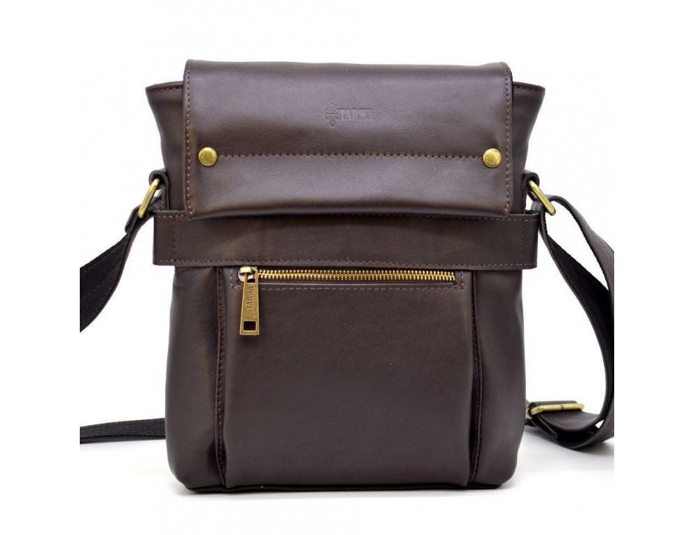 Коричневая сумка через плечо для мужчин TARWA GC-7121-3md - Фото № 9
