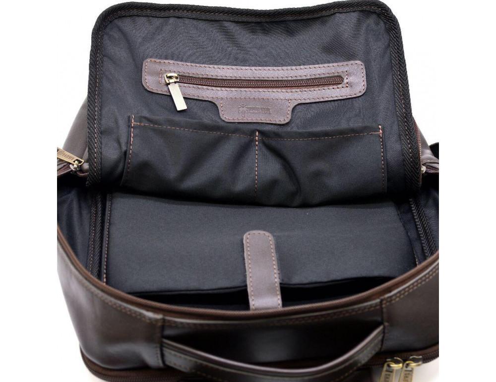 Коричневый кожаный рюкзак для города Tarwa gc-7280-3md - Фото № 2