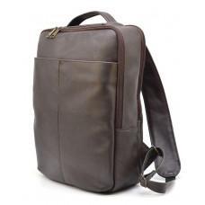 Коричневый кожаный рюкзак для города Tarwa gc-7280-3md