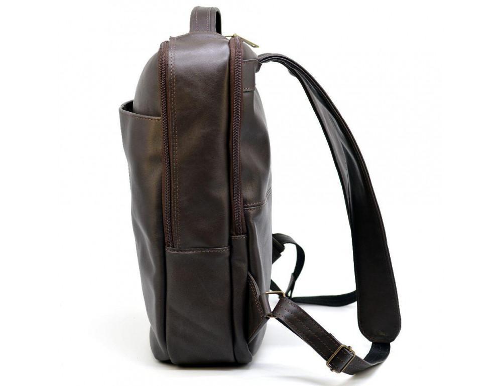 Коричневый кожаный рюкзак для города Tarwa gc-7280-3md - Фото № 4