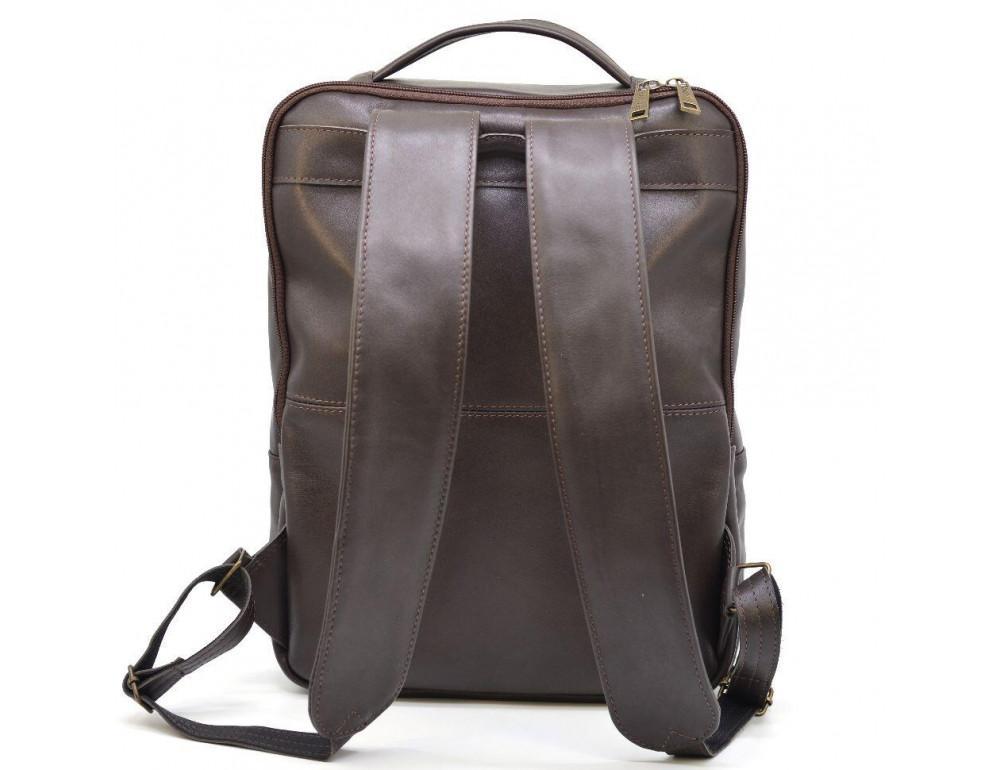 Коричневый кожаный рюкзак для города Tarwa gc-7280-3md - Фото № 5