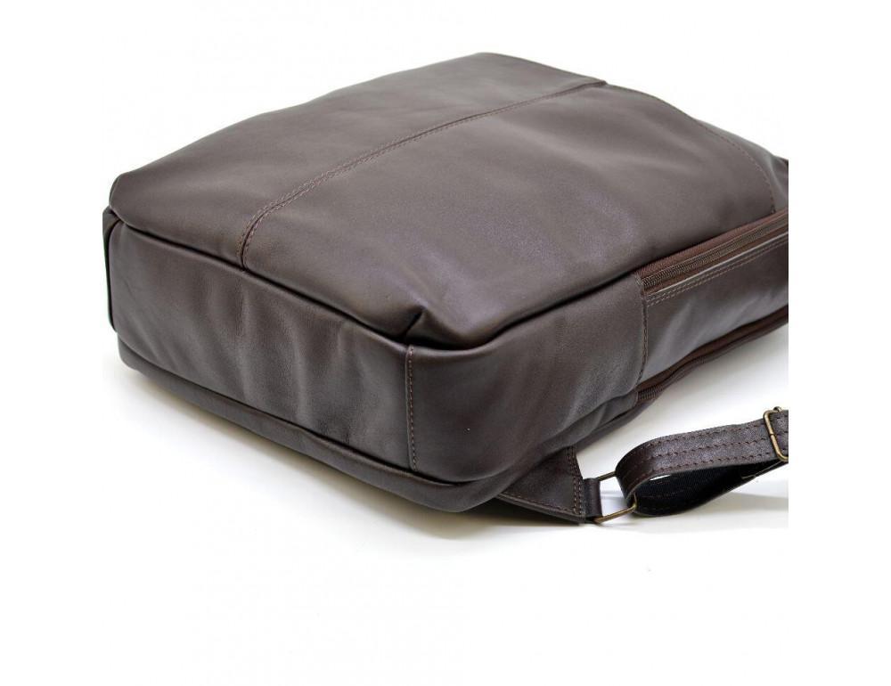 Коричневый кожаный рюкзак для города Tarwa gc-7280-3md - Фото № 8