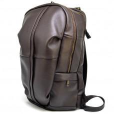 Коричневый кожаный рюкзак TARWA GC-7340-3md