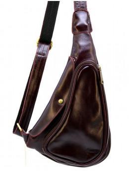 Мужская кожаная сумка-рюкзак TARWA GM-3026-3md
