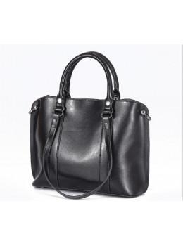Чёрная женская сумка Grays GR-839A