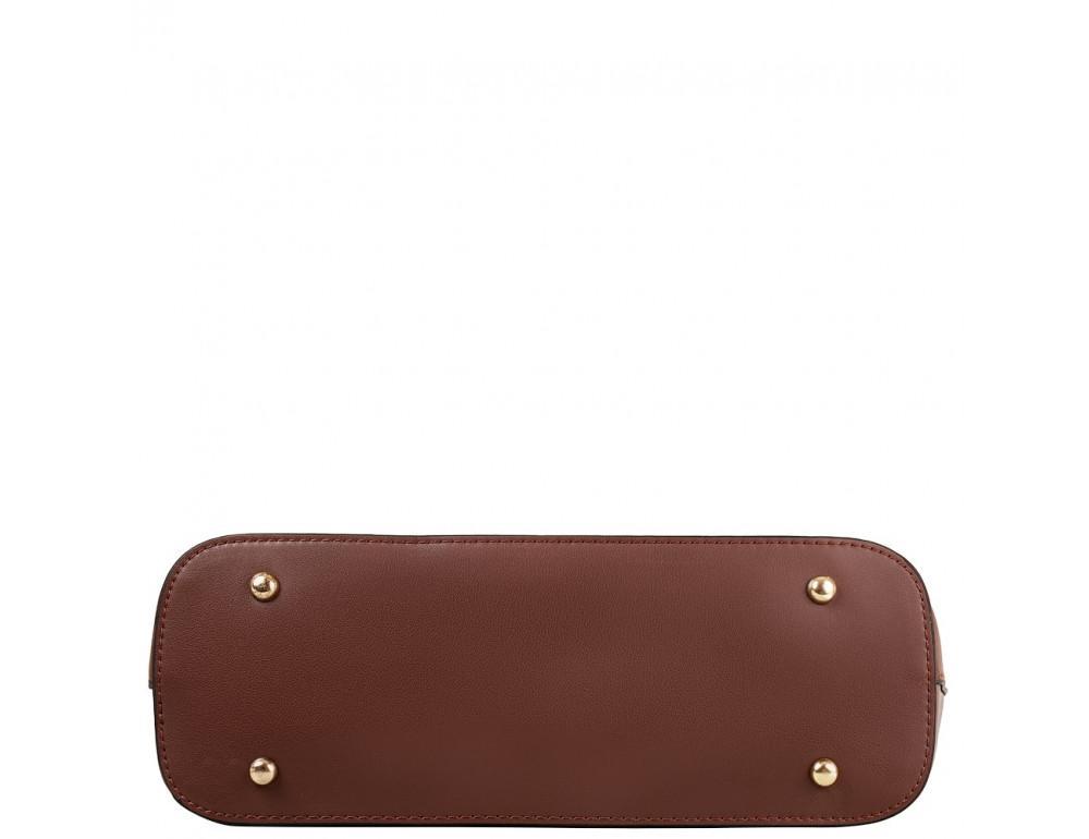 Женская кожаная сумка Grays GR3-173BR коричневый - Фото № 3