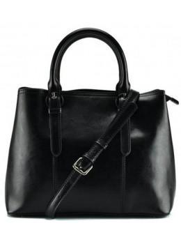 Жіноча шкіряна сумка Grays GR3-857A чорний