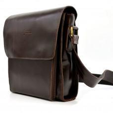 Коньячная сумка через плечо TARWA GX-3027-3md