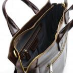 Бордово-коричневый кожаный портфель TARWA GX-7107-3md - Фото № 108