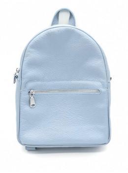 Блакитний жіночий рюкзак HEART H0001B