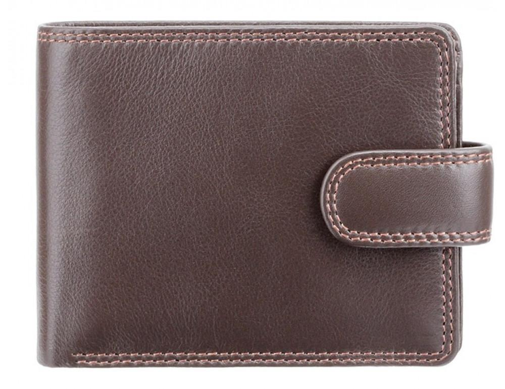 Мужской кожаный кошелек Visconti HT10 CHOC тёмно-коричневый - Фото № 1
