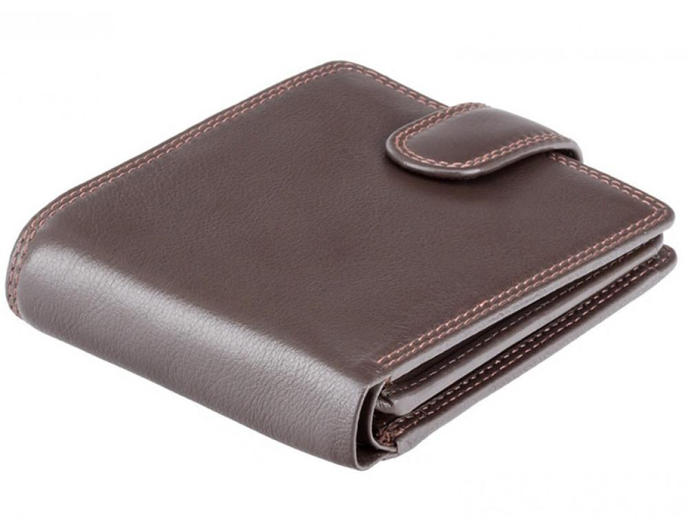 Мужской кожаный кошелек Visconti HT10 CHOC тёмно-коричневый - Фото № 3