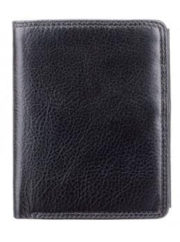 Чорний чоловічий гаманець невеликих розмірів Visconti HT11 BLK