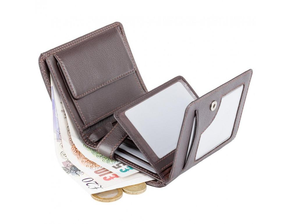 Мужской кошелек Visconti HT11 CHOC коричневый - Фото № 4
