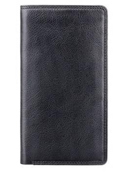Чорний шкіряний портмоне чоловічий HT12 BLK Big Ben c RFID