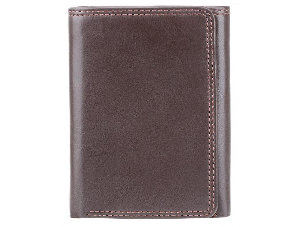 Тёмно-коричневый портмоне Visconti HT18 CHOC Compton c RFID - Фото № 1