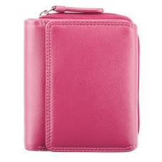 Розовый женский кошелек Visconti HT30 FCS Kew c RFID