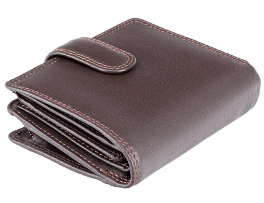 Коричневий гаманець унісекс Visconti HT31 CHOC Soho (Choсolate)
