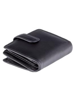 Чёрный кошелек унисекс Visconti HT31 BLK Soho (Black)