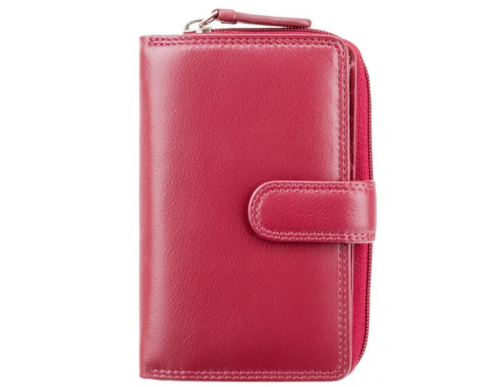 Красный кожаный женский Visconti HT33 RED Madame c RFID - Фото № 1